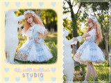 Long Ears & Sharp Ears Lolita ~The Companion In the Forest Lolita JSK Short Version -Ready Made
