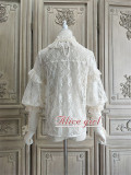 Alice Girl ~When Camellia Blossoms Lolita Blouse -Pre-order