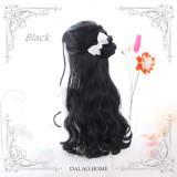 The little silver ~60cm Long Curls Lolita Wig