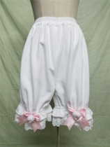 Polar Fleece Winter Lolita Bloomer With Pocket