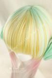 Light Golden Pink Curls Lolita Wig 70cm Long