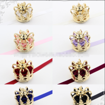 Sweet Dreamer Gold/Silver Rose Little Crown Lolita Headdress-IN STOCK