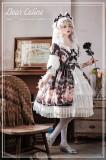 Dear Celine Lolita Pink Tea Elegant Lolita OP/JSK -Ready Made