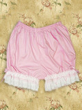Pink Lace Lolita Bloomers