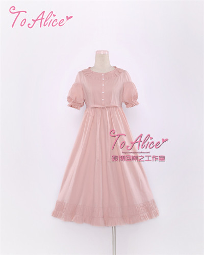 Antique Dolls~ Vintage Lolita OP