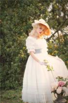 Farewell Rococo Elegant Lolita OP -Ready MADE