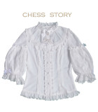 Chess Story ~Gift From Budapest~ Lolita Blouse -Ready Made