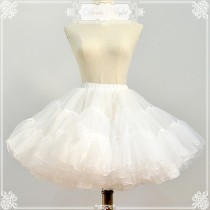 Organze Tailored A-line Shaped Lolita Petticoat