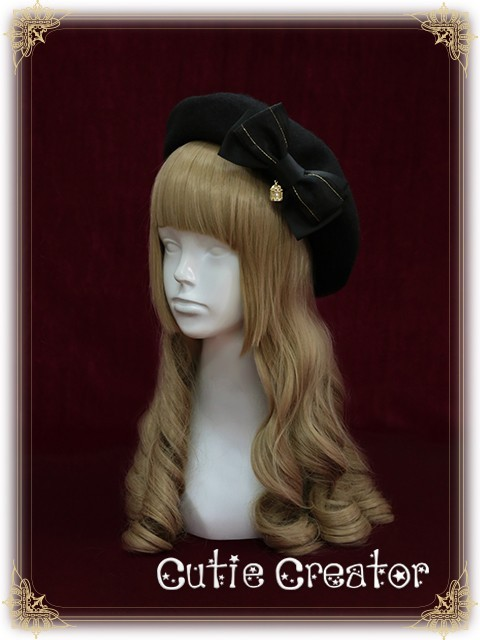 Cutie Creator ~Vasilisa~ Bowknot Lolita Beret