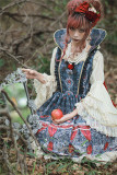 Infanta Lolita ~White Snow * Poison Apples Lolita JSK Version II