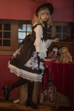 Antique Paper Doll~ Black Lolita JSK Dress -Pre-order