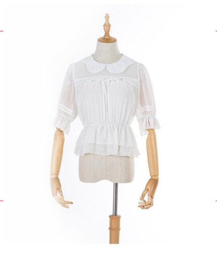 Sweet Petal Collar Lolita Blouse