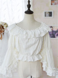 Doris Night ~Summer Chiffon Inner Lolita Blouse