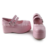 High Platform Sweet Pink Lolita Shoes