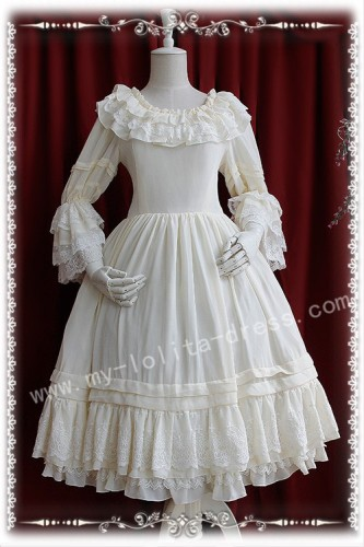 Elegant Infanta Tea Party Inside Wear Lolita OP