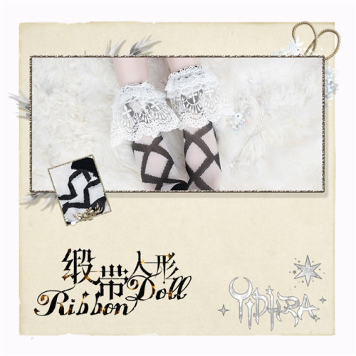 Yidhra Lolita ~Ribbon Shape Lolita Short Socks