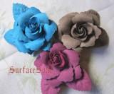 Single Rose Flower Lolita Hairpin