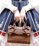 Embossed Chocolate Dessert Lolita Cross-body Bag/Handbag