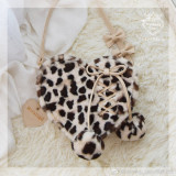 Repair of Love/Star~ Sweet Lolita Fur Hand Bag/Cross-body Bag -Pre-order