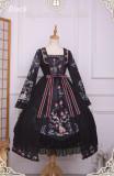 Singing of Deer Series~ Square Collar Lolita OP Dress -Ready Made