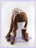 Sweet Dreamer Gold/Silver Rose Little Crown Lolita Headdress-IN STOCK