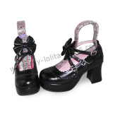 Antaina Floral Bow Princess Lolita Shoes