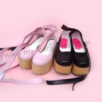 Rocking Horse Style Belt Lolita Shoes