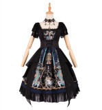 God Redeem ~Gothic Lolita OP/JSK + Choker -Ready Made