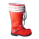 Sweet Red Blue Exorcist Rin Okumura Boots