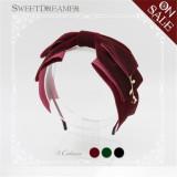 The Little Prince's Rose- Velvet Lolita Headbow -11 Colors