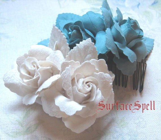 Surface Spell Two Roses Hairpin