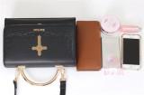 MuFish Rose Cross Daily Style Lolita Bag 2 Use