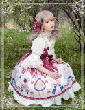 Magic Tea Party ~Medal of Baking Classic Lolita JSK -Ready Made