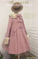 Sweet A-shaped Lolita Long Coat -Pre-order
