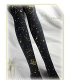 Fly In The Starry Sky- Lolita Velvet Tights for Autumn and Winter