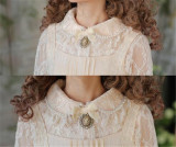 Flower Traver~ Elagant Lace Lolita Blouse