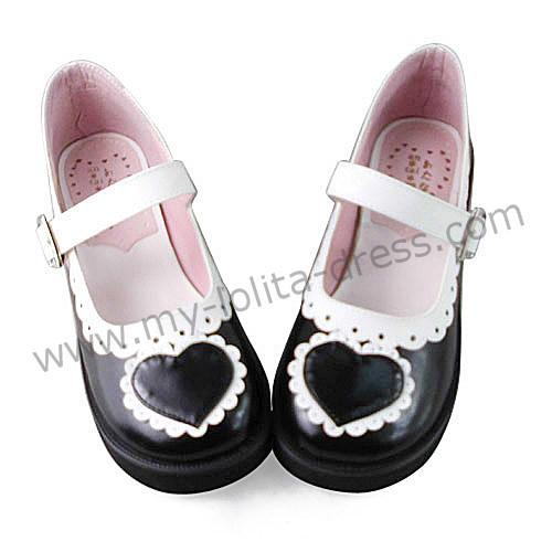 Hearts Single Strap Sweet Shoes