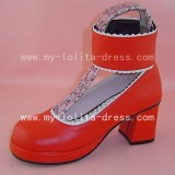 Sweet Ankle Belts Square Shoes 2 Colours