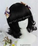 Sweet Black Face Framing Lolita Wig