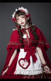 YUPBRO Lolita ~Little Red Riding Hood Soft Lolita JSK Fullset -Pre-order