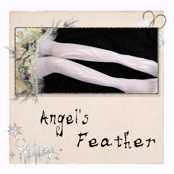 Yidhra ~Angel's Feather Lolita Tights 30D