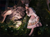 Long Ears & Sharp Ears Lolita ~The Companion In the Forest Lolita Skirt/Cape/Blouse -Ready Made