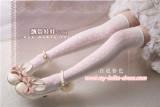 Sweet Ribbons Bows Above Knee Lolita Socks