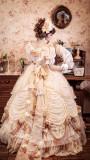 Henrietta ~Rose Queen Flowers Luxury Lolita OP -Pre-order