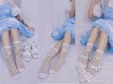 Arancia~Sweet Glass Silk short version Lolita Socks