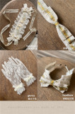 SweetDreamer ~Shepherd's valley Lolita Hat/Headbow/Headband/Gloves -Pre-order