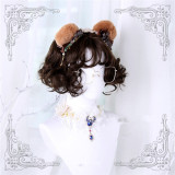 Spring Roll and Meatball~ Air Curls Short Lolita Wig