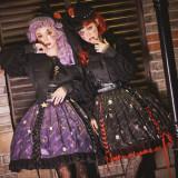 Miss Point ~Clown Daunting Night Lolita Skirt