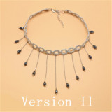 Sweet White Long Beads Lolita Necklace