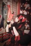 Hyakki Yakō*Sacrifice to Red Leaves~ Gothic Lolita Jumper Dress